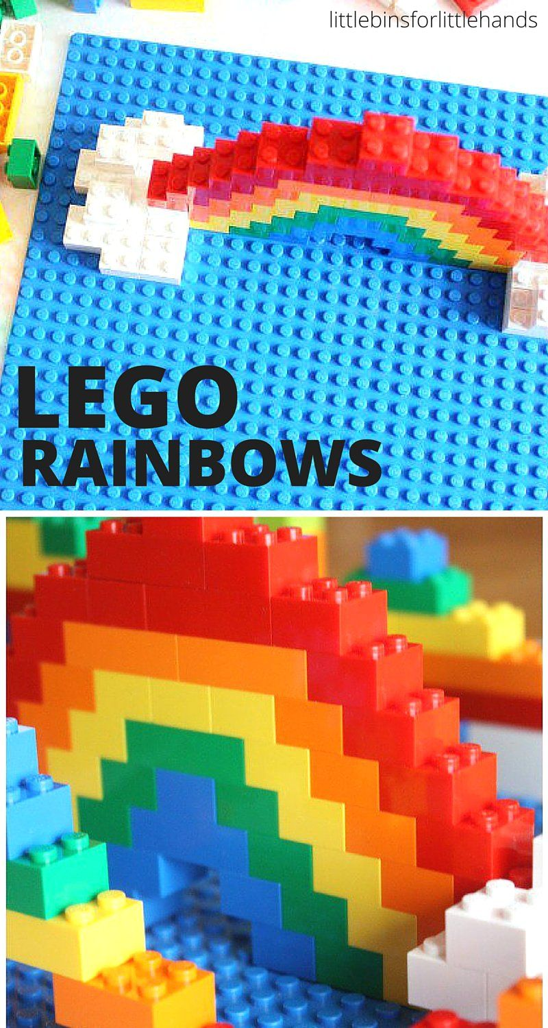Challenge Love Rainbow Didactico Para Lego For KidsBaby Juego H9IYE2WDbe
