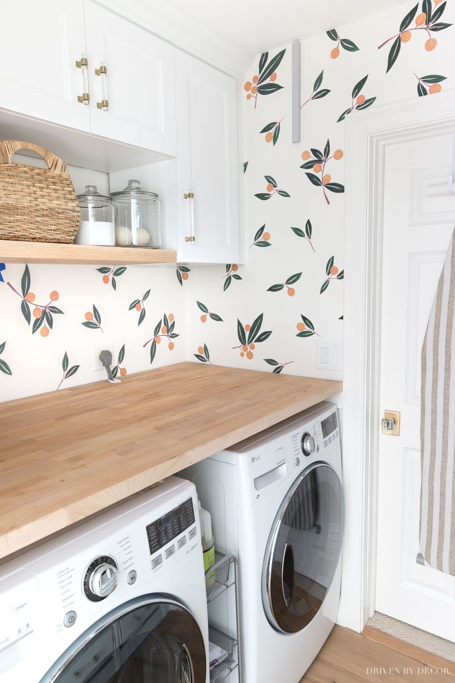 Laundry Room Decals That Make It The Cutest Room in the House!