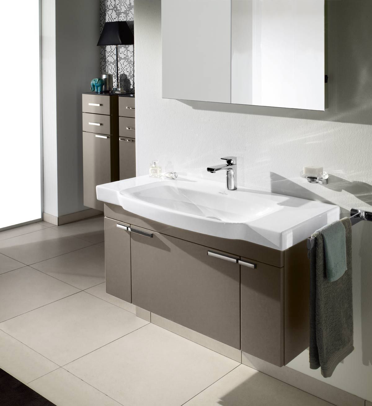 Villeroy and boch bathroom sink - Villeroy Boch Sentique Terra Matt
