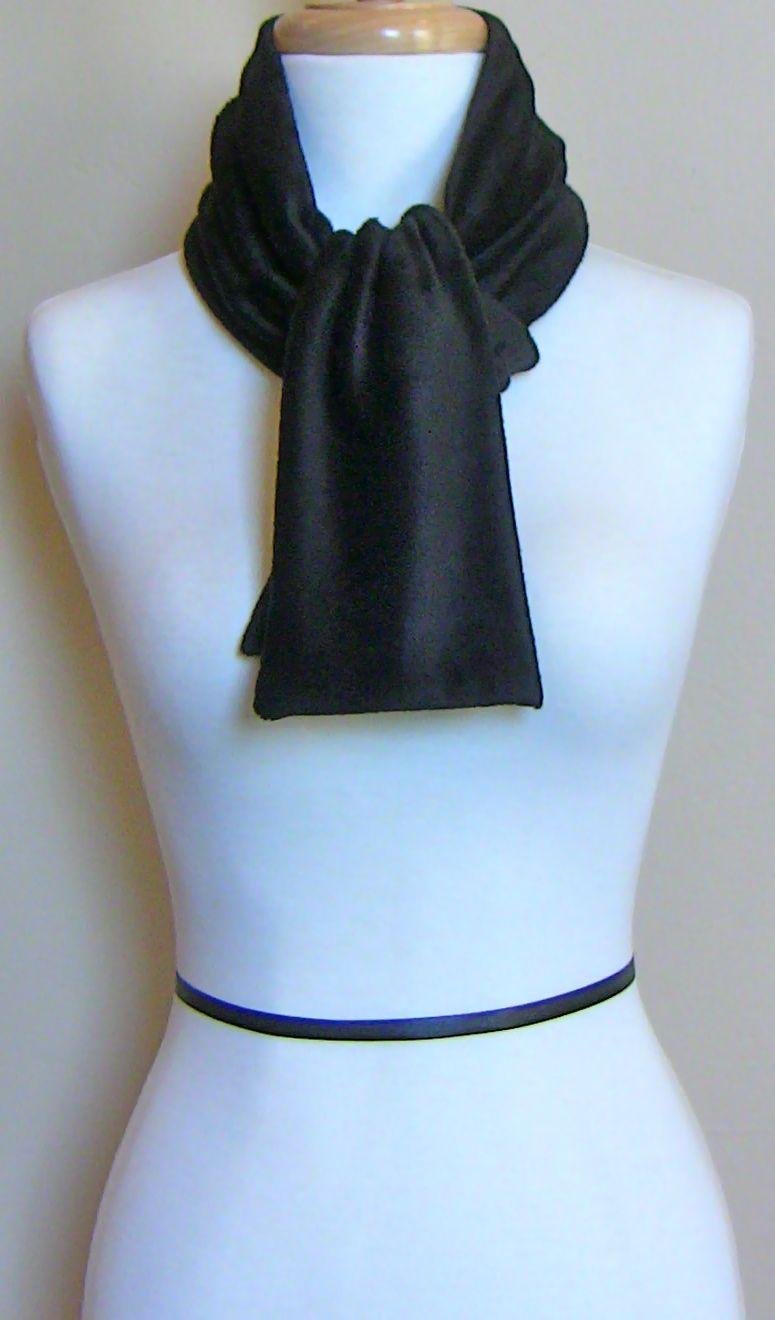 Balintina,Tuvina Tux Simple & Classic Velvet Cravat Tie -Handmade in USA-www.balinitna.com
