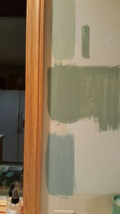 Paint Choices With Honey Oak Wood Trim And Cabinets