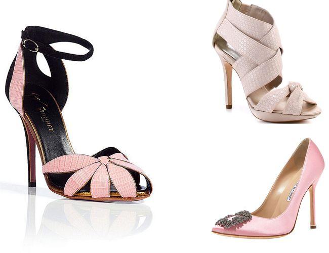 Tendencias para el 2013 en zapatos de novia – Vionnet y Manolo Blanhik