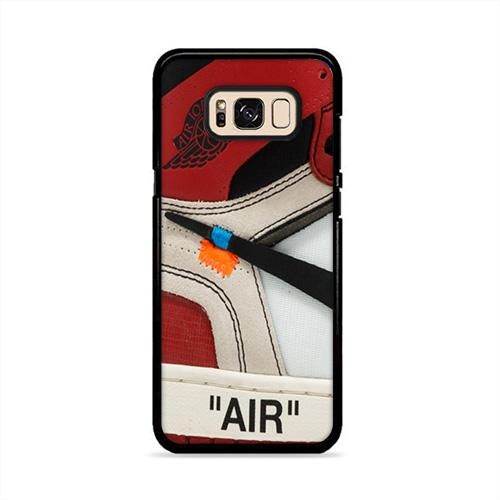 buy popular c1dd5 9c85c THE 10 Air Jordan 1 OFF White Samsung Galaxy S8 Plus Case | Caserisa ...