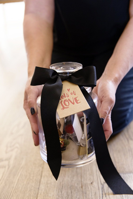 Make Your Own Anniversary Love Jar Love jar, Best gifts