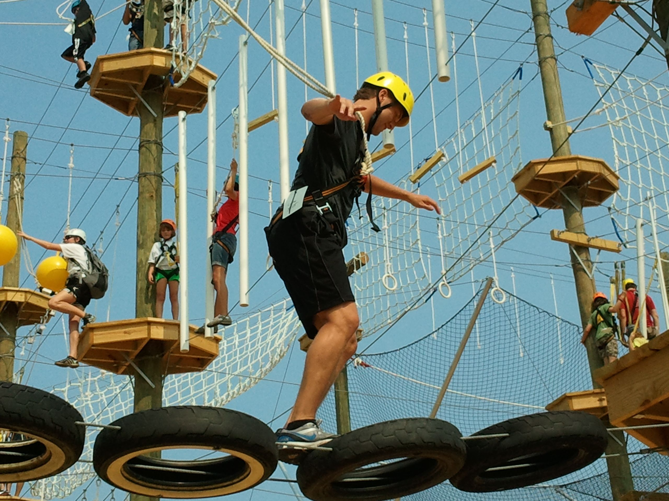Take Flight Adventures Kittery Me Maine Ropes Course Maine Adventure