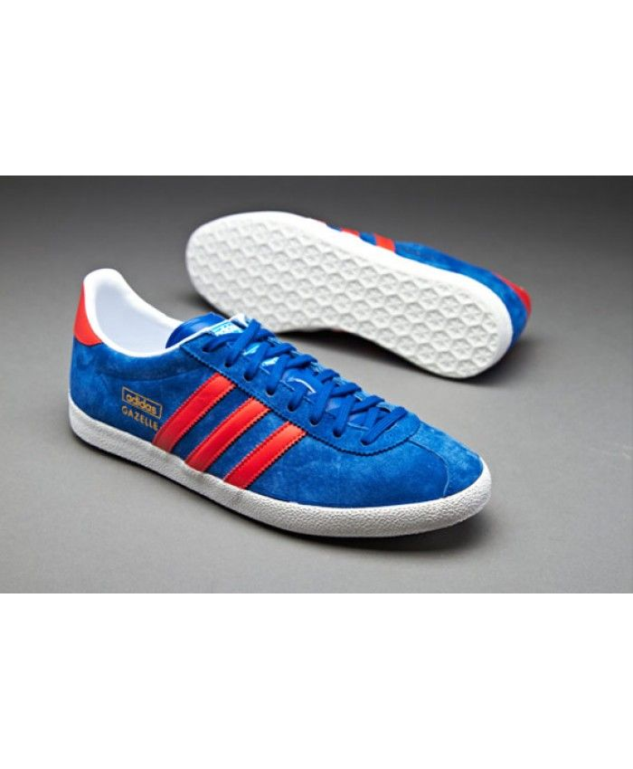 Gazelle Collegiate Red Og Royal Adidas Trainer R0gAqxn