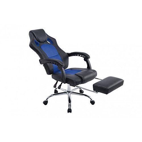 ergonomique extensible avec Fauteuil bureau pieds de repose HeD9Y2WEI