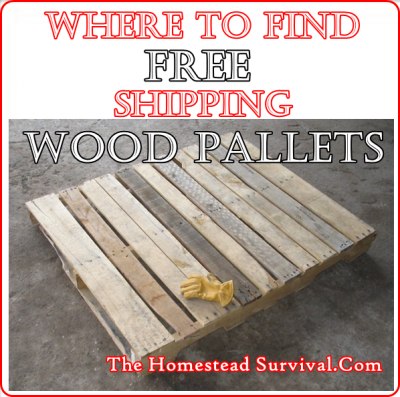 Where To Find Free Shipping Wood Pallets Homesteading The