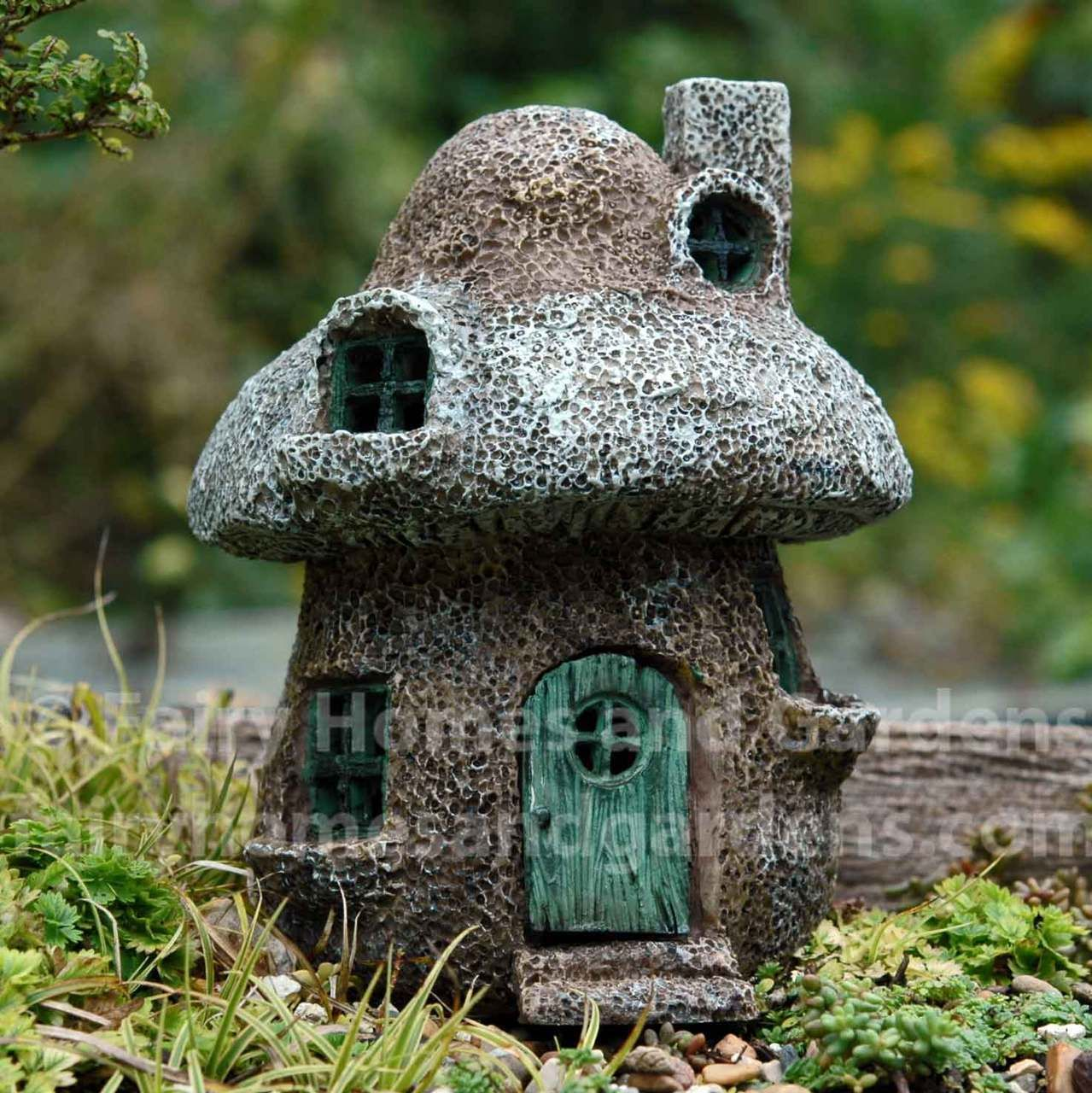 Fairy Homes And Gardens   Miniature Mushroom House, $29.99 (http://www