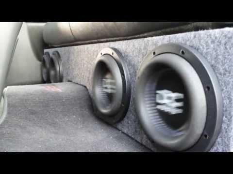 How To Build A Box For 4 8 Subwoofers In A Silverado Truck Subwoofer Box Custom Subwoofer Box Subwoofer Box Design