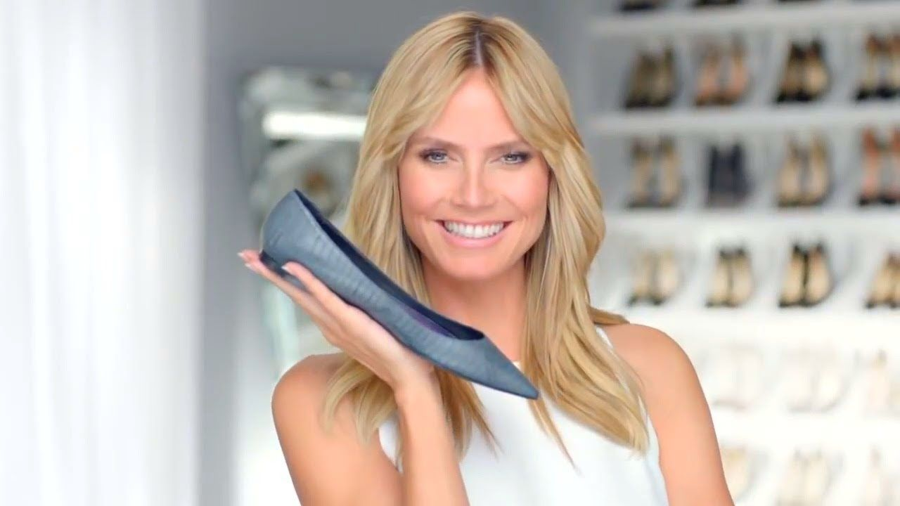 Heidi Klum, DreamWalk by Dr  Scholl's    ´´Tame the Shoe´´    Commercial