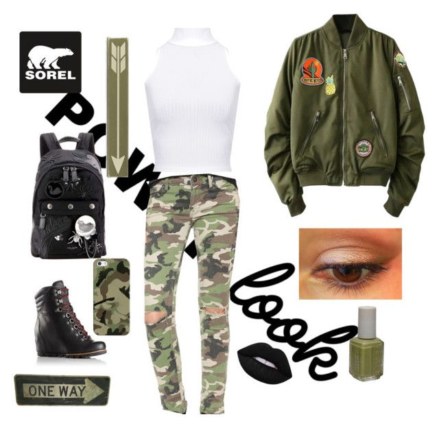 """Kick Up the Leaves (Stylishly) With SOREL: CONTEST ENTRY"" by hindjibril ❤ liked on Polyvore featuring SOREL, WearAll, DL1961 Premium Denim, Marc Jacobs, Lime Crime, Home Decorators Collection, Essie, Casetify, october and hellooctober"