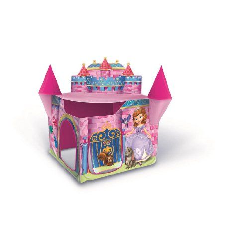 newest collection 69041 4322a Playhut Sofia The First Princess Castle Tent: Toys & Games ...