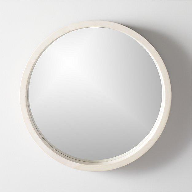Round Mirrors Mirror, Round Wood Frame Mirror Canada