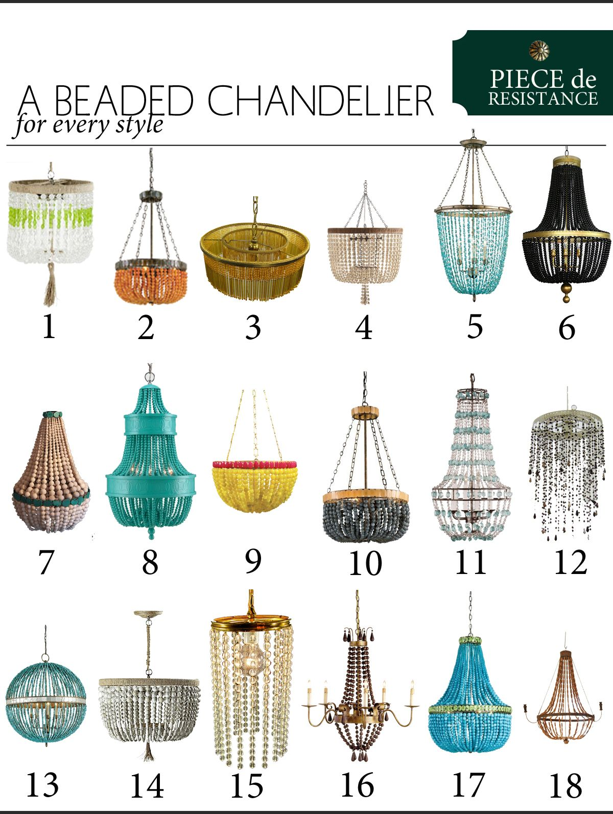 A beaded chandelier for every style lighting beaded chandelier