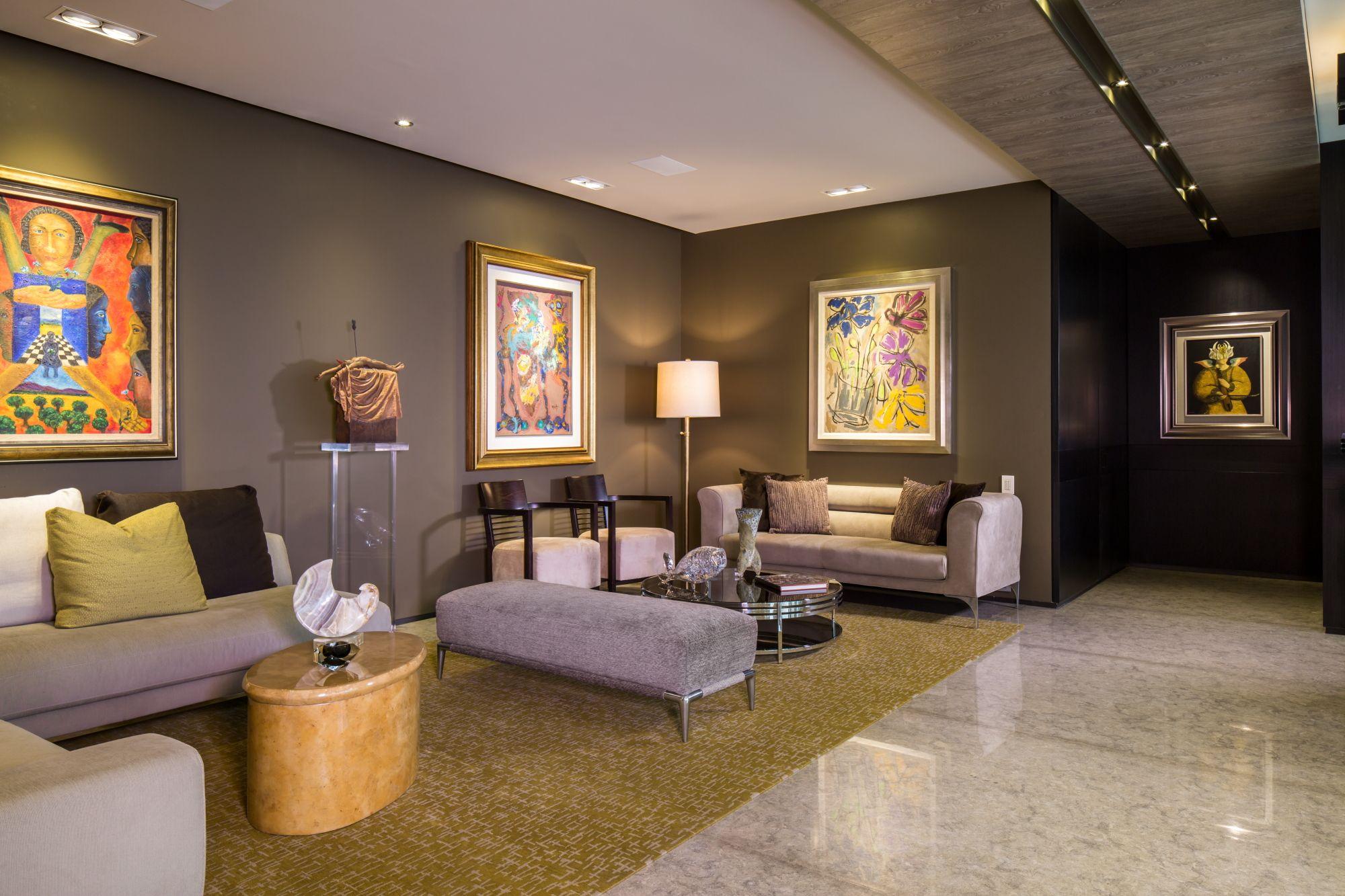 Sala de estar (secundaria) de Penthouse por Ana Landa de ...