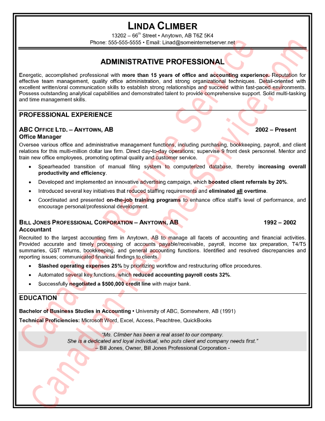 Administrative Assistant Resume Samples Prepossessing Administrative Assistant Resume Sample  Cv  Pinterest .