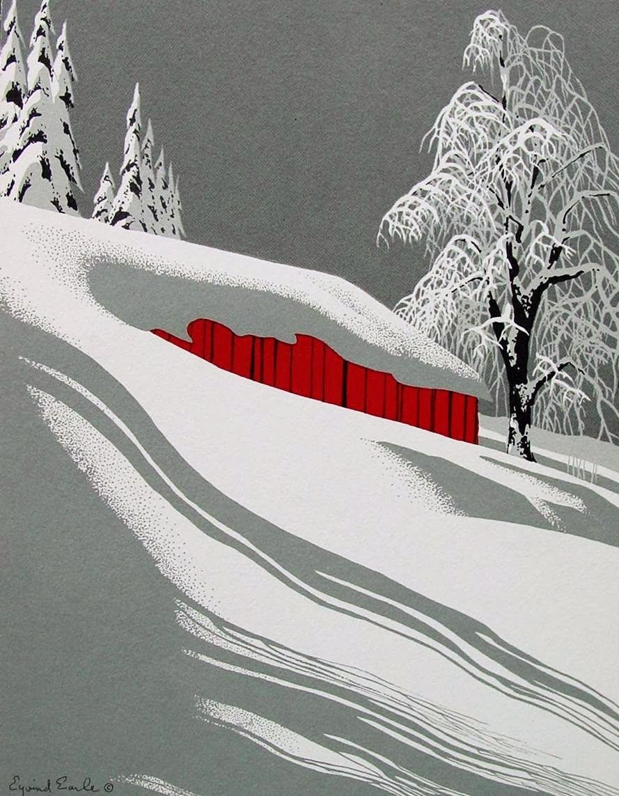 eyvind earle greeting card - Google Search