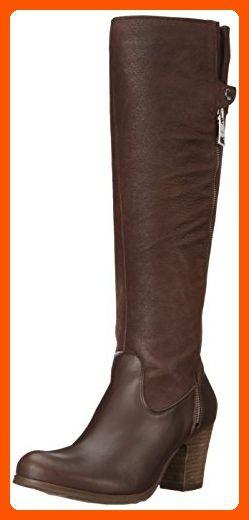 Fidji Women's L859 Motorcycle Boot, Nep Choc Brown, 40 EU/10 M US - All about women (*Amazon Partner-Link)