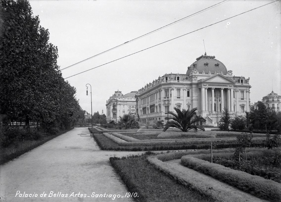 Palacio de Bellas Artes, Santiago, 1910