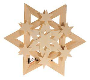 Kerstster Cosmos (incl. led verlichting), per stuk | kerst ...
