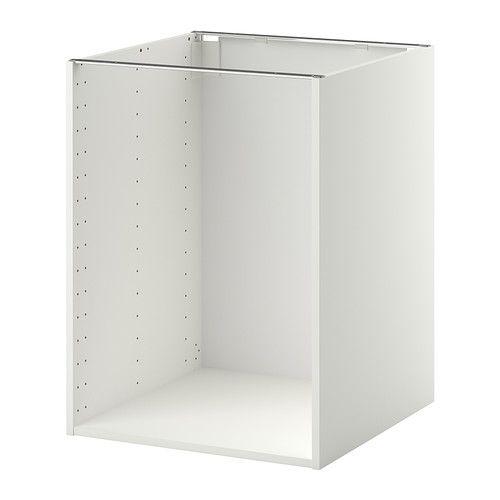 Metod Rám Spodní Skříňky Bílá Obchod Kitchen Cabinets