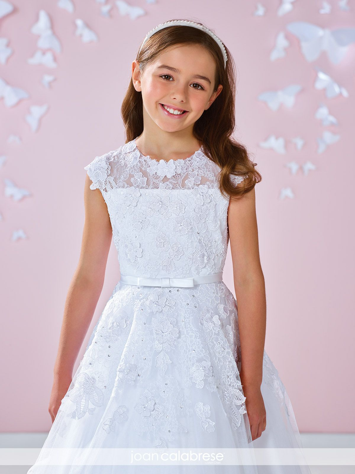 Chantilly Lace Flower Girl Dresses