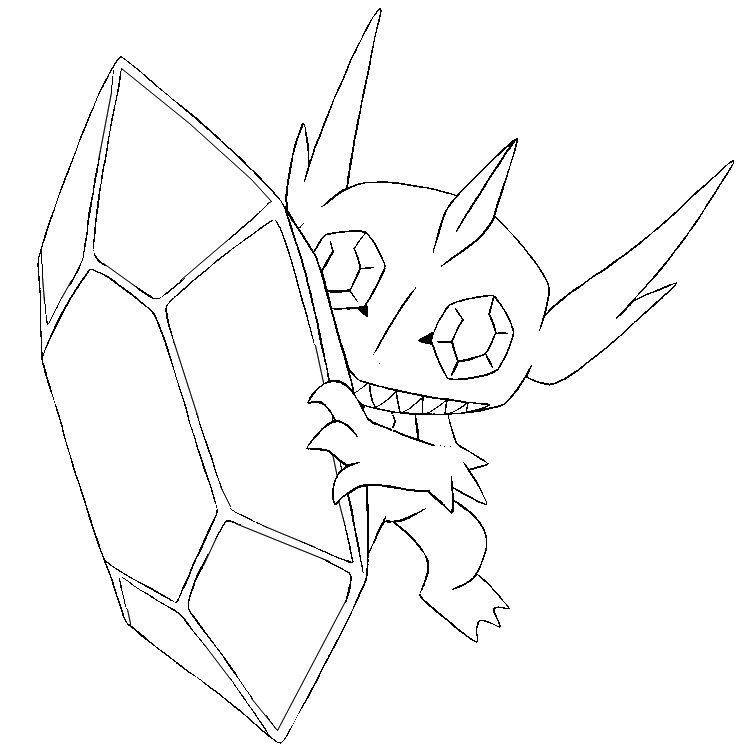 sableye coloring page - Google Search Colouring Pages Pinterest - fresh coloring pictures of pokemon legendaries
