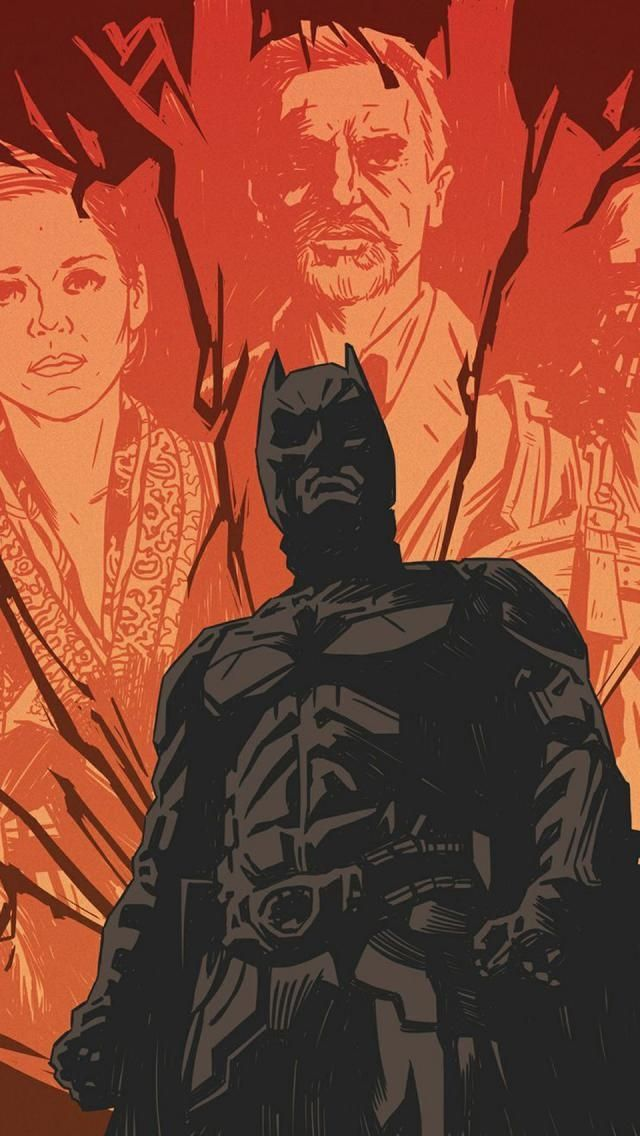 Tap And Get The Free App Art Creative Batman Movie Superhero