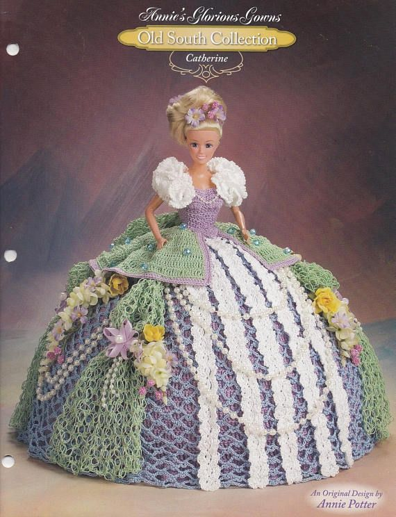 Catherine, Annie\'s Old South Glorious Gowns Crochet Fashion Doll ...