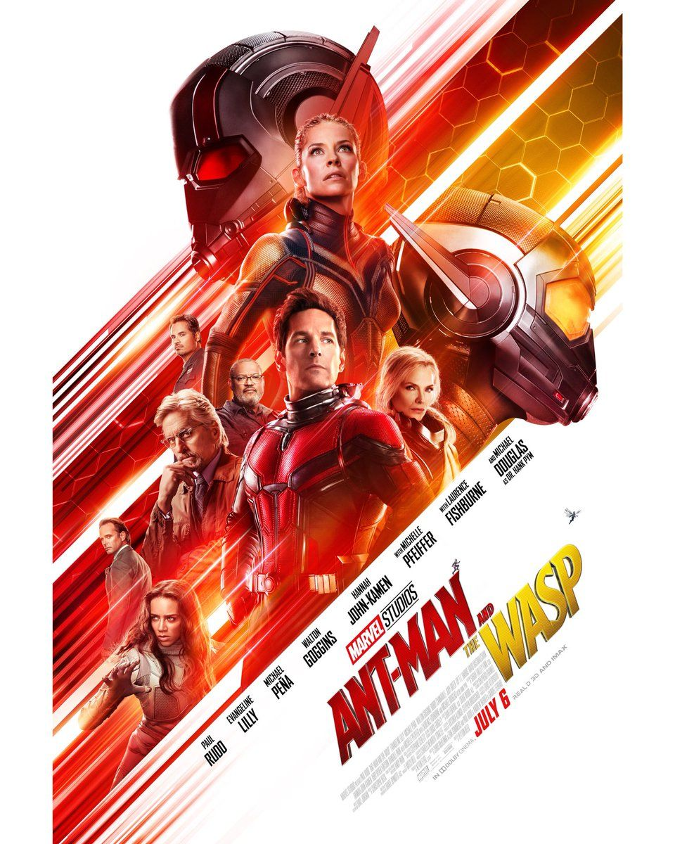 Evangeline Lilly Shares New Ant-Man And The Wasp Poster