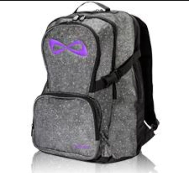 Glitter Backpack With Colored Logo All Star Cheer Mom Stuff