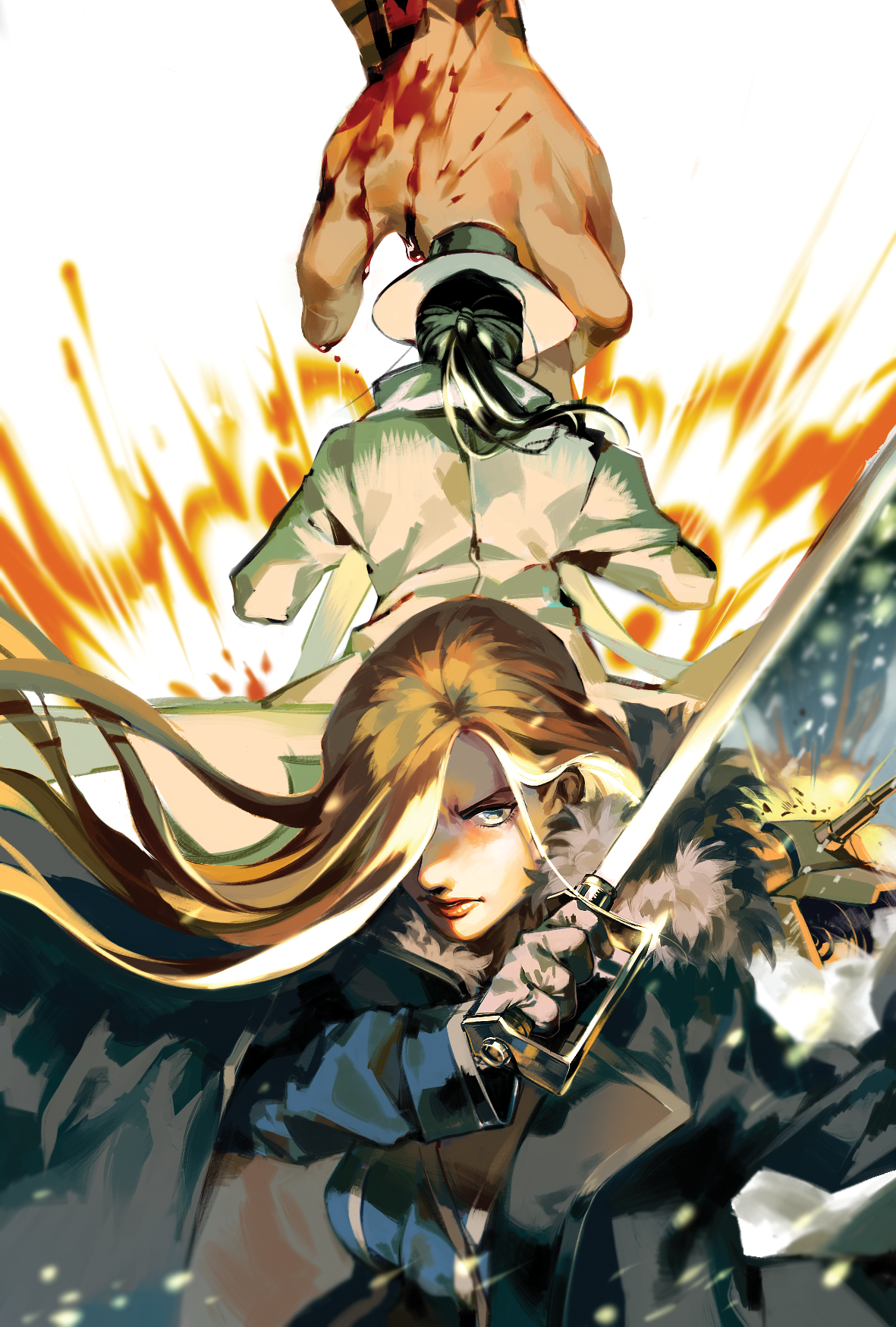 Fullmetal Alchemist, Kimblee, Major-General Armstrong   Fullmetal alchemist, Alchemist ...