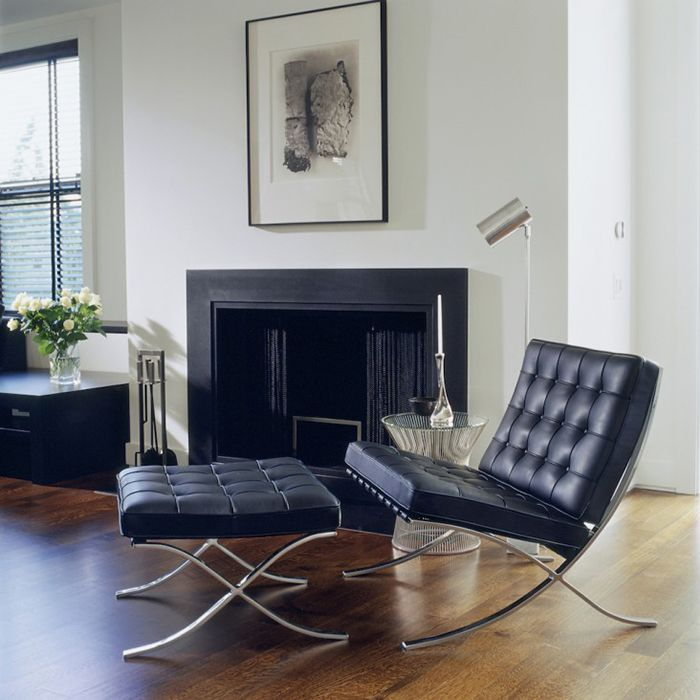 Michael Kors Inspiration Knoll Barcelona Chair Barcelona Chair Bauhaus Interior