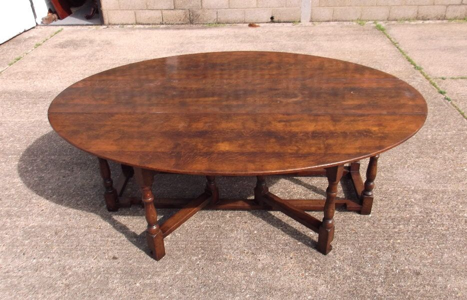 Large 6 Metre Antique Table