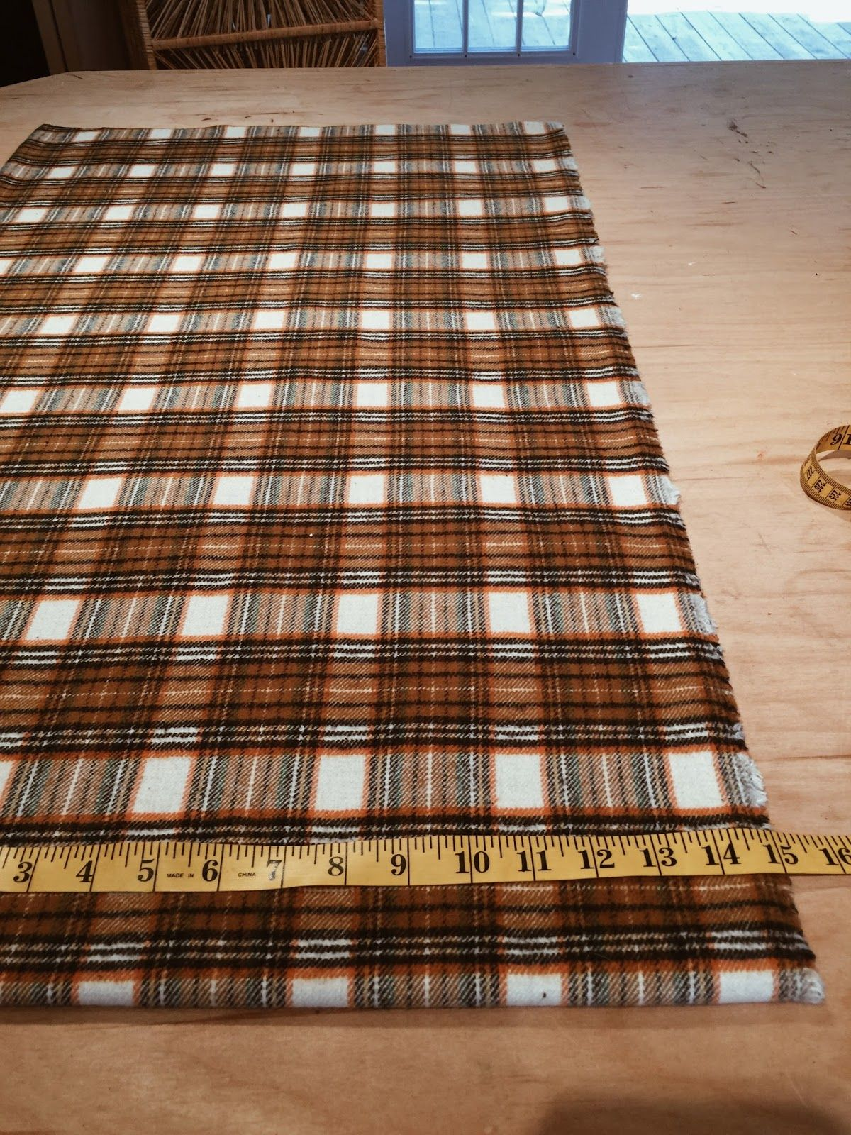 Diy table runner beginners sewing project table
