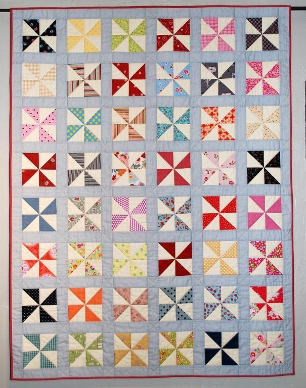 Pinwheel-Palooza! 9 Pinwheel Quilt Patterns to Sew | Pinwheel ... : pinwheel quilt pattern free - Adamdwight.com
