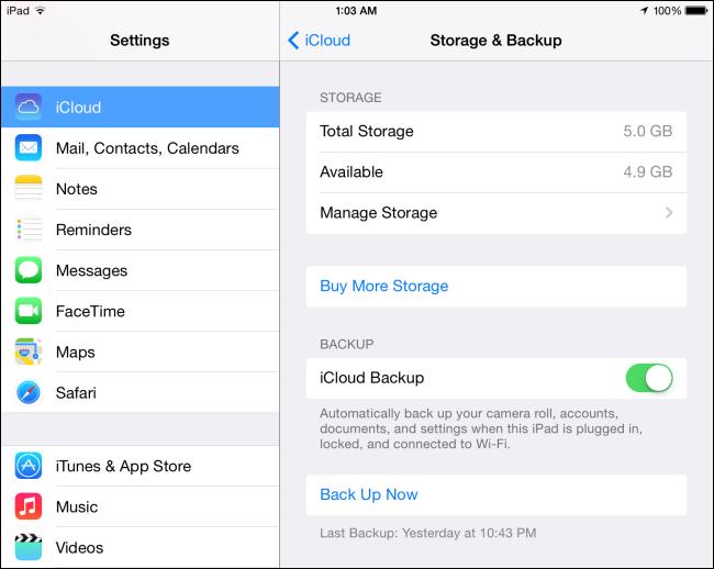 How To Free Up Icloud Storage Space Icloud Ipad Ios Ipad