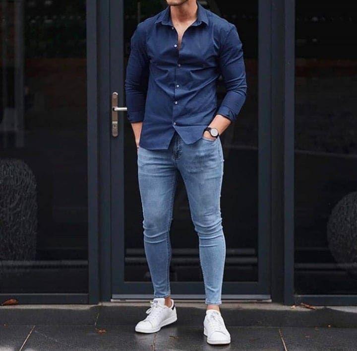 50 Ideas De Moda Con Jeans Para Hombres (con imágenes