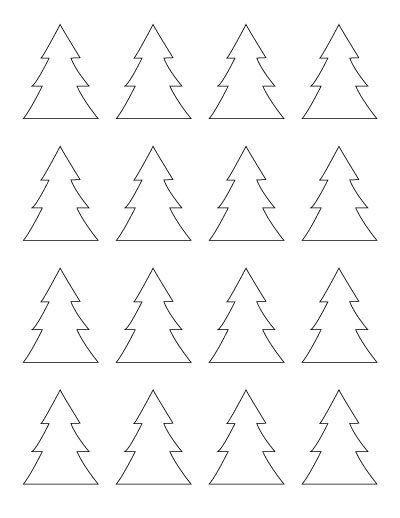 Free Printable Christmas Tree Outline Templates From 2 10 Christmas Tree Outline Christmas Tree Template Christmas Tree Printable