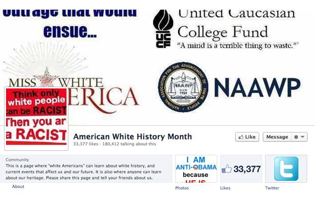 White History Month? - thats right , i said it ...    As we continue to celebrate Black History month, how would you feel if there was a — dare I say it — White History month. Would it be offensive?  A few white people on