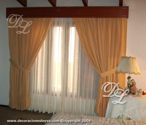 Como hacer una cenefa de madera imagui cortinas for Como hacer cortinas modernas