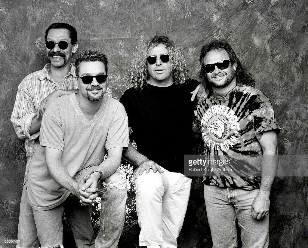 Alex And Eddie Van Halen Sammy Hagar And Michael Anthony 1995 Van Halen Eddie Van Halen Van Halen 5150