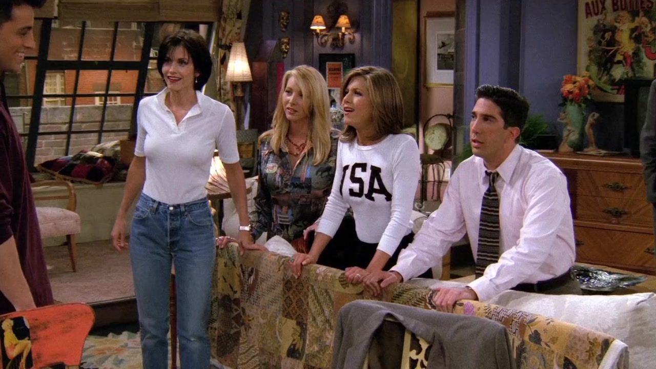 Recap of Friends Season 2 Episode 4 (S02E04) - 6 | Friends Outfits