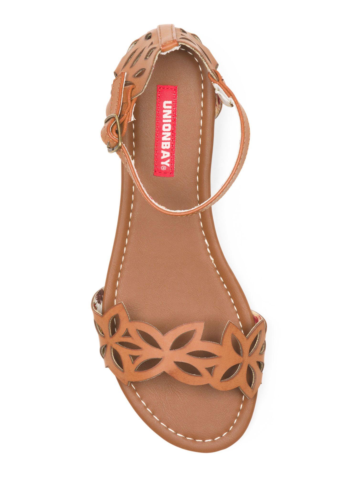 3e5530b81b33 Union Bay - Noreen Flower Strap Sandal