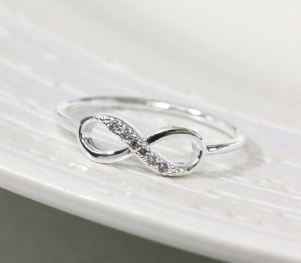 I Love This For A Wedding Ring It Can Double As An Infinity Sign Or