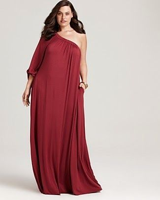 inspiration fashion: plus size #fashion red dress lovely woman