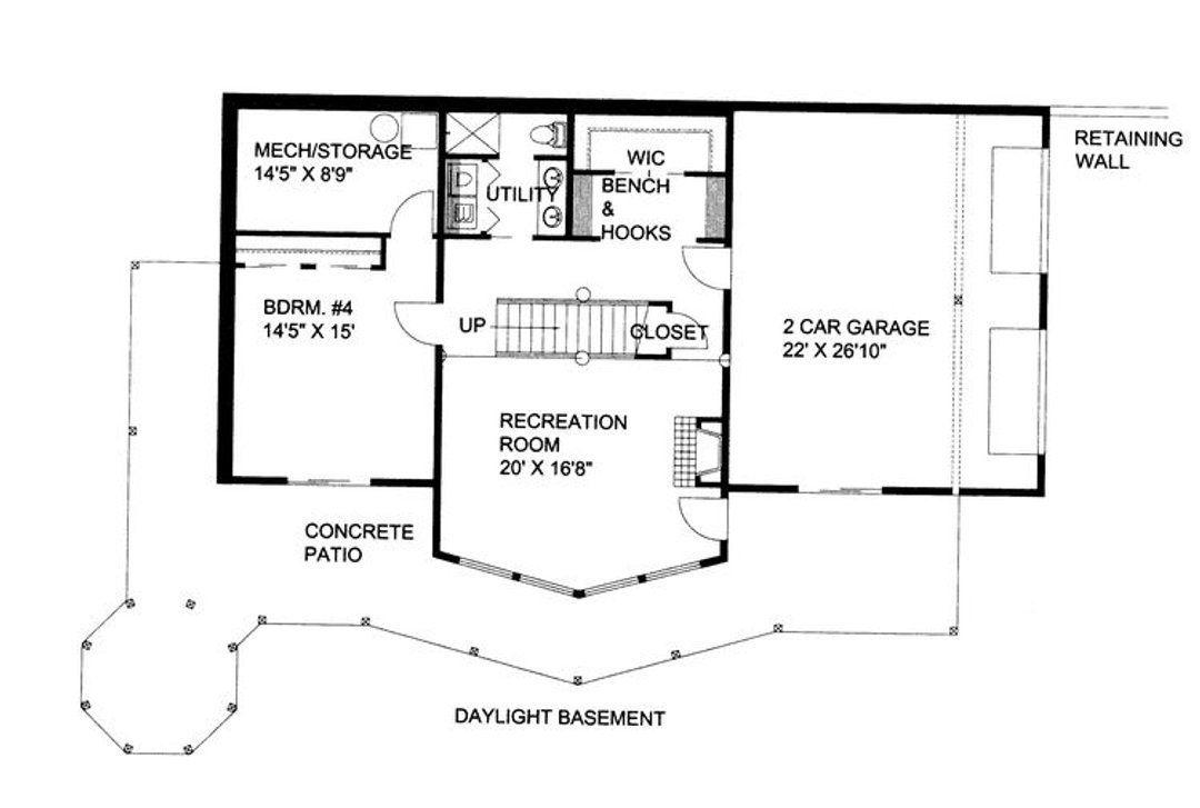 House Plan 001 3308