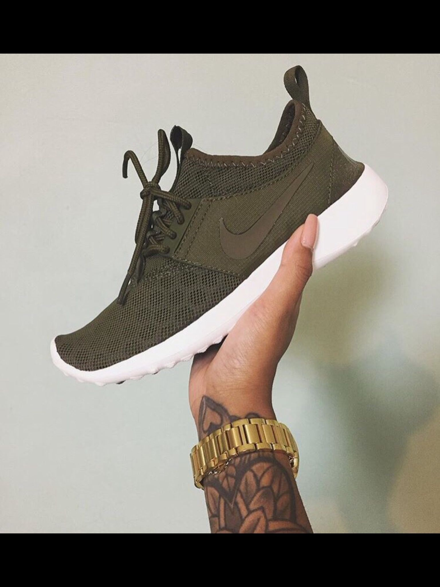 the best attitude c4a6b dee94 coupon for nike roshe run one olive green a3cb5 e2420