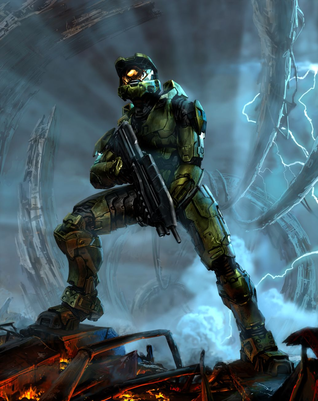 New Halo 3 Concept Art Released With Images Halo Video Game Halo Armor Halo